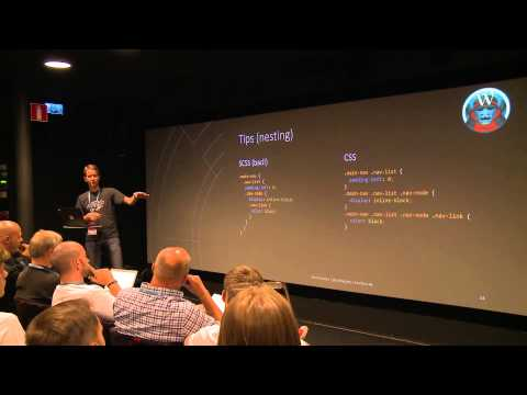 WordCamp Norrköping 2015: Beginner's Guide to SASS