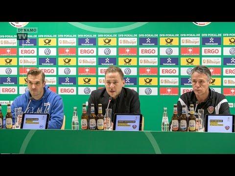 2. Runde DFB-Pokal | SGD - DSC | Pressekonferenz nach dem Spiel