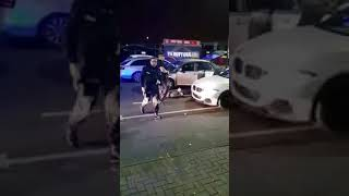 Small Heath Coventry Road closed temporarily, police arrest violent paki druggie in BMW.