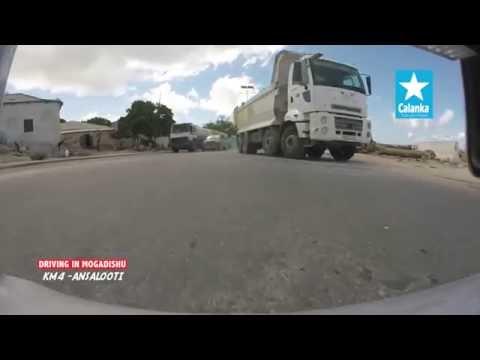 Driving in Mogadishu Somalia HD