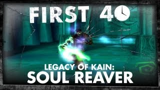 First 40 - Legacy of Kain: Soul Reaver (Gameplay)