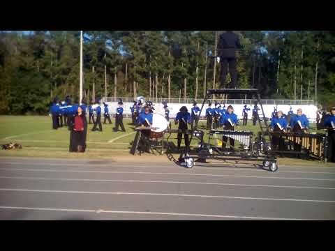 Southwestern Randolph High School Marching Cougars 2017 Eastern Randolph High School Competition