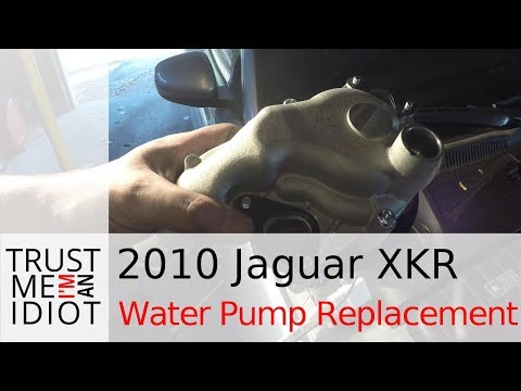 How to Replace a Water Pump on a 2010-14 Jaguar XKR  (X150)
