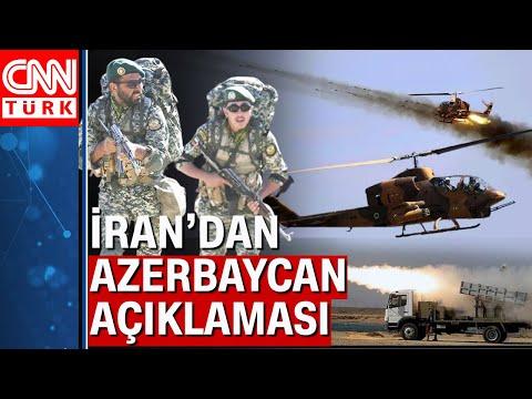İran'ın Azerbaycan Sınırında Yaptığı Tatbikat Ortalığı Karıştırdı! İran-Azerbaycan Gerilimi