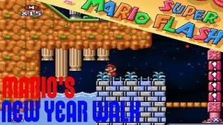Mario's New Year Walk - Super Mario Flash 3 Custom Level
