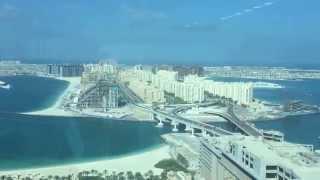 Вид на Пальму Джумейра с 40 го этажа. Дубай.ОАЭ.Недвижимость.(В этом видео я показал вид на Пальму Джумейра с 40 го этажа здания напротив и дал краткий обзор недвижимости..., 2015-02-02T11:46:58.000Z)