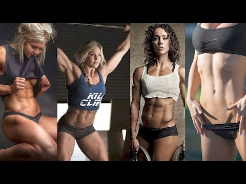 CrossFit Girls Are Awesome  -  Stop Wishing Start Doing CrossFit Motivation