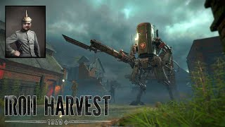 [18+] Шон играет в Iron Harvest (PC, 2020)