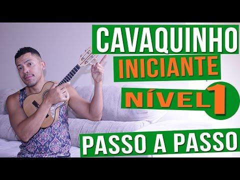 AULA DE CAVAQUINHO INICIANTE l NIVEL BÁSICO l PASSO A PASSO