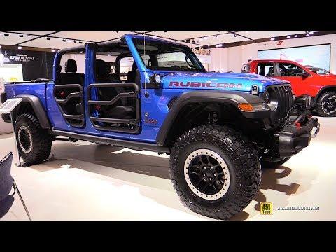 2020 Jeep Gladiator Rubicon - Exterior Interior Walkaround - 2020 Montreal Auto Show