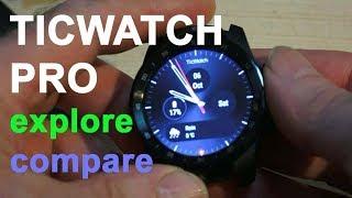Video Exploring The  Amazing Ticwatch Pro download MP3, 3GP, MP4, WEBM, AVI, FLV Oktober 2018