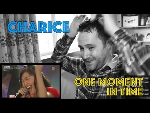Charice high notes killed One Moment In Time  REACTION