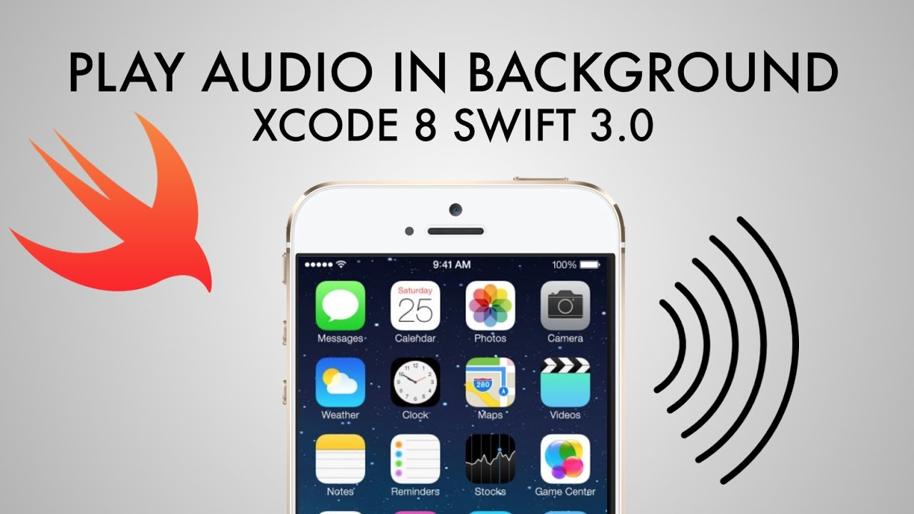 How To Play Audio In Background Xcode 8 (Swift 3 0)