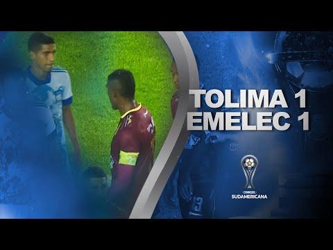 Deportes Tolima Emelec Goals And Highlights