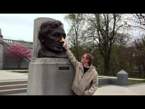 Lincoln Tomb State Historic Site in Springfield, IL with Road Trip Story