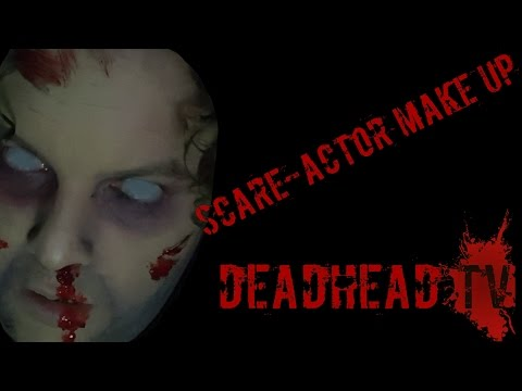 Looking GORE-geous | Basic Scare Actor Make up Halloween