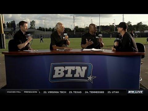 BTN Bus Tour: Michigan Coach Jim Harbaugh