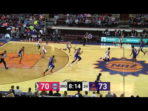 Rahlir Hollis-Jefferson (14 points) Game Highlights vs. Long Island Nets