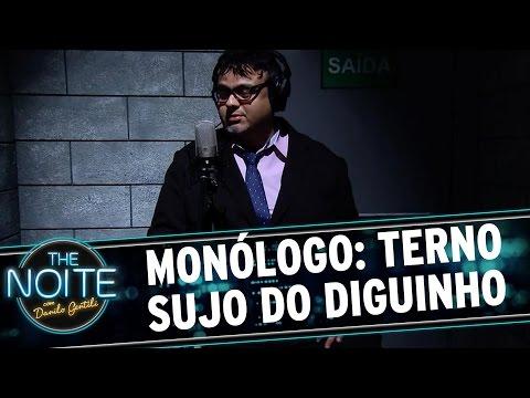 The Noite (23/12/15) - Monólogo: Terno Sujo Do Diguinho