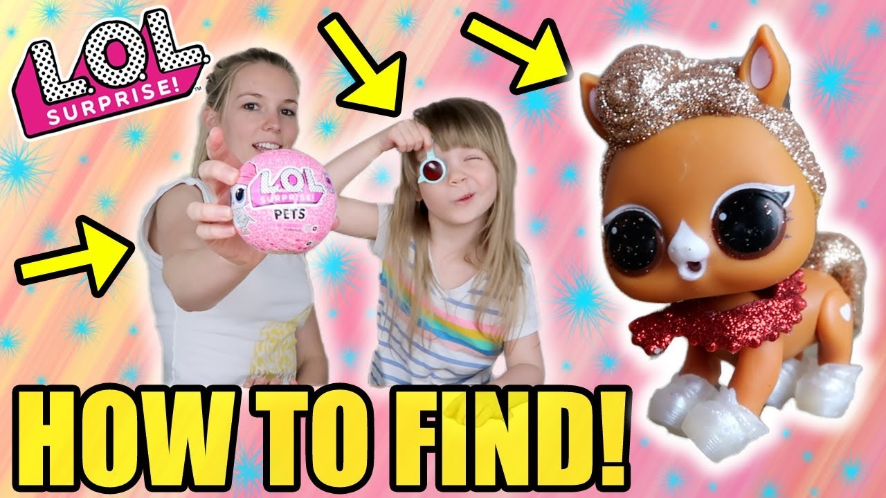 How To Find The Pony L O L Surprise Series 4 Eye Spy Pets Weight