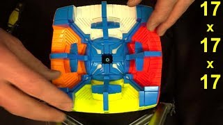 *FULL* Yuxin 17x17x17 Rubik's Cube Puzzle assembly at normal speed