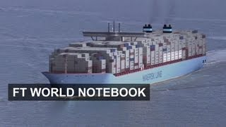 The World Biggest Container Ship: The Majestic Maersk | FT World