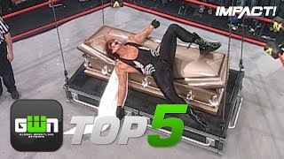 5 Most BONE-CHILLING Burials in IMPACT Wrestling History   GWN Top 5