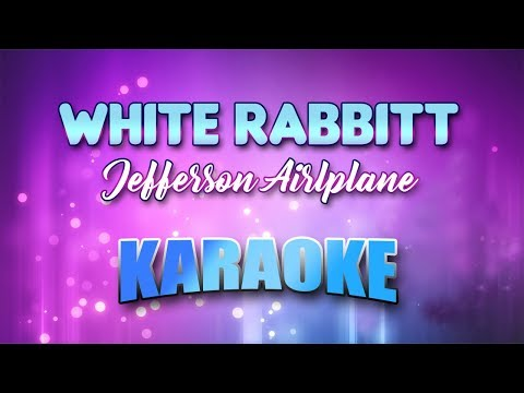 Jefferson Airlplane - White Rabbitt (Karaoke version with Lyrics)