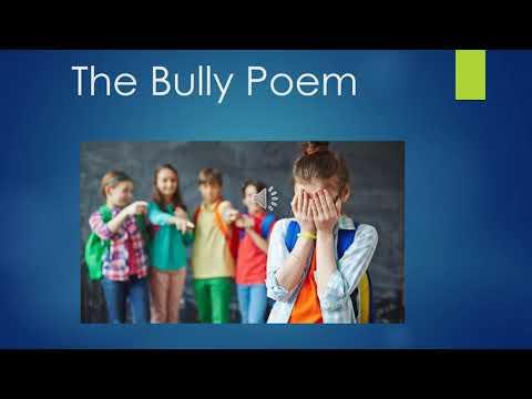 The bully poem