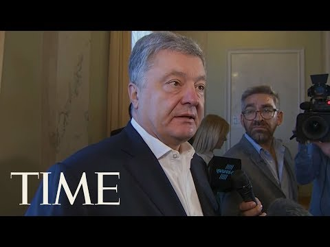 Ukraine's Former President Says He Discussed Investments With Trump's Lawyer Rudy Giuliani | TIME