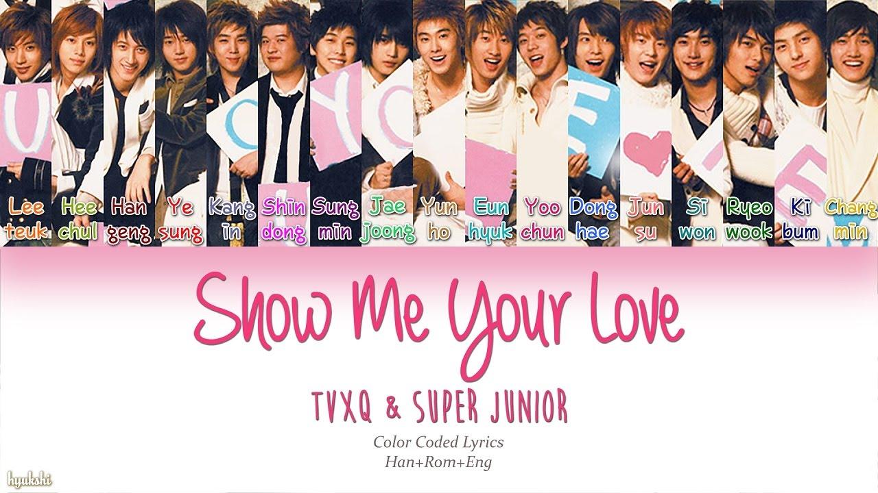 Super junior me lyrics