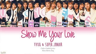 Watch Super Junior Show Me Your Love video
