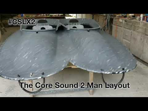 Core Sound Layouts XL2 - 2 Man Layout For Seaduck Hunting For Pitboss Waterfowl