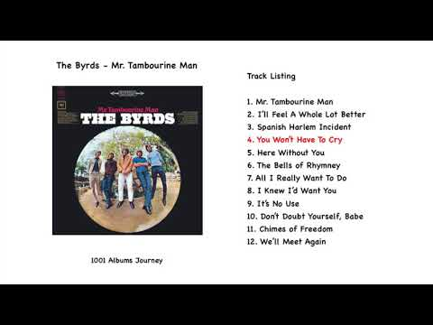 The Byrds - You Won't Have To Cry