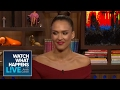 Jessica Alba Dishes On Filming Taylor Swift's 'Bad Blood' Music Video | WWHL