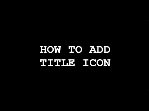 How To Add Title Icon In Website | HTML&CSS | Online Web Tutorials | TH Developers.