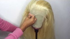Make a Frontal Wig at Home Squeezing 4 BUNDLES & Frontal (DETAILED)