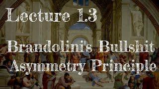 Calling Bullshit 1.3: Brandolini's Bullshit Asymmetry Principle