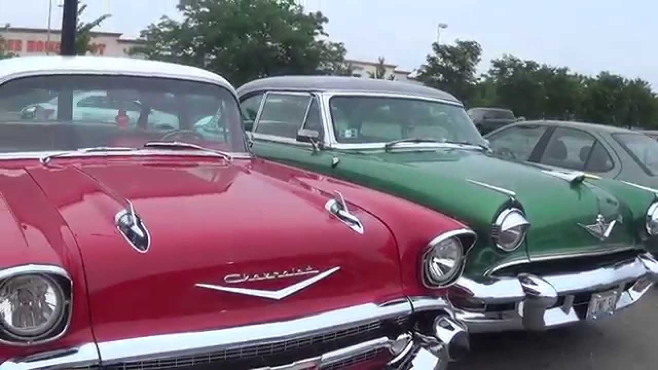 50\'s Old Fashioned Chevrolet Cars part 1 - YouTube
