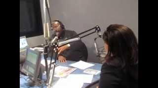 Alicia Lyttle on Les Brown's radio show