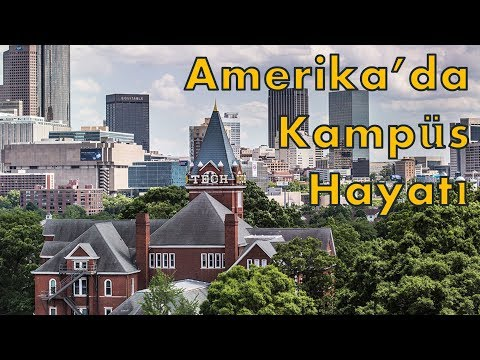 Amerika'da Kampüs Turu | Georgia Institute of Technology