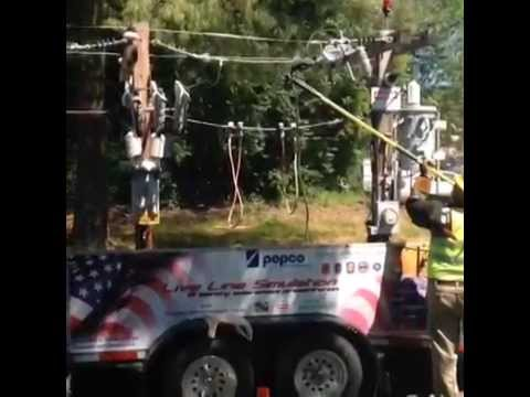 Pepco Live Wire Demonstration