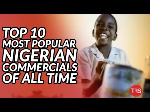 Top 10 Most Popular Nigerian COMMERCIALS Of All Time