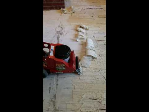 Best Way To Remove Mastic Adhesive Underneath Wood Floors