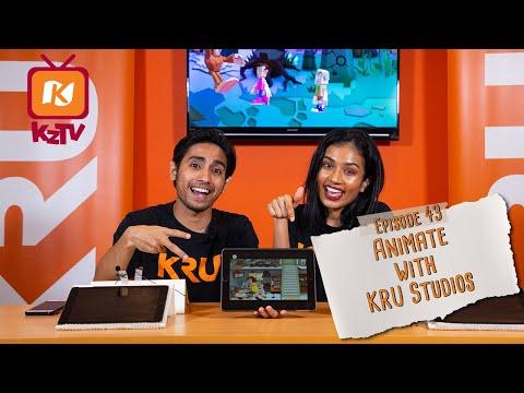 Animate With KRU Studios! (KZTV'19 EP43)