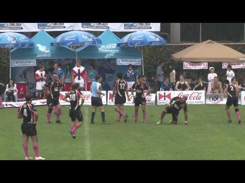 2014 Shanghai RFC Black VS Guangzhou Rams NEW