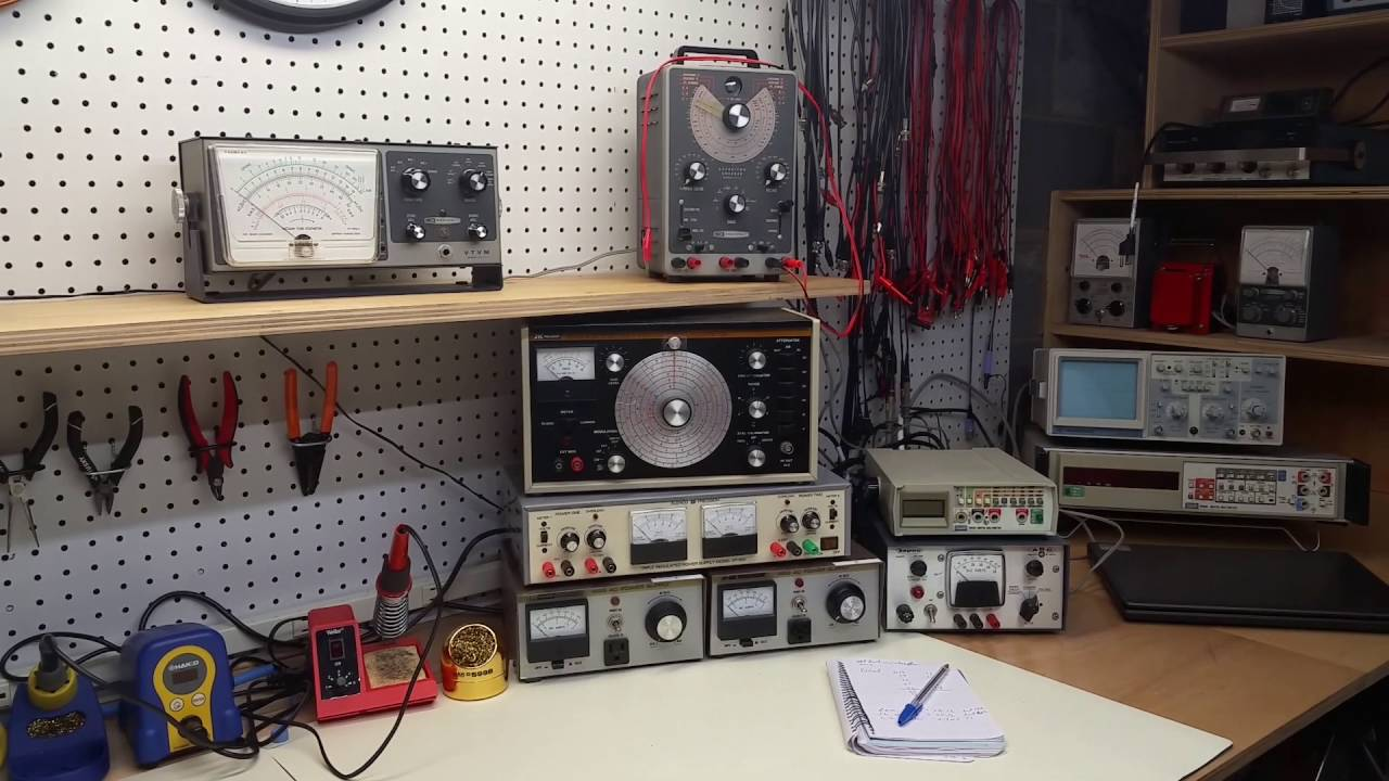 #18: Electronics lab and workspace - YouTube