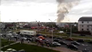Gambar cover Минск, пожар в Масюковщине до ликвидации