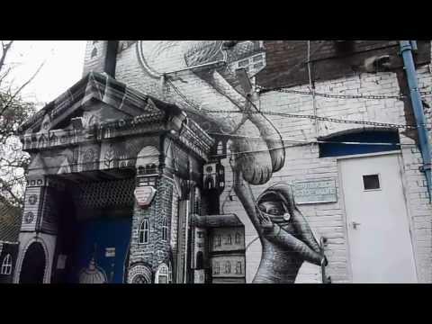 PHLEGM-PECKHAM RYE MURAL-WALL-GRAFFITI-SHEFFIELD STREET ARTIST.MOV