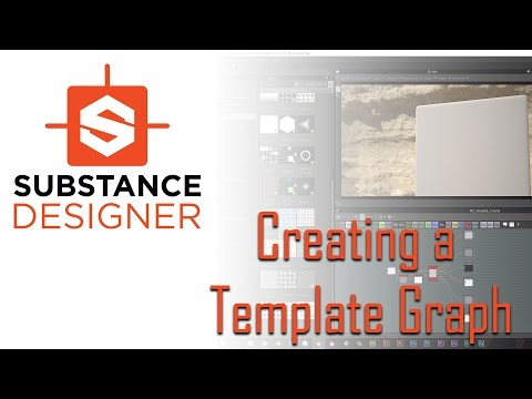 Creating a Template Graph in Substance Designer (Redux)